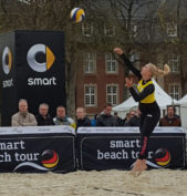 balllarina Beachvolleyball | Weidl/Kovarova beim Smart Beach Supercup in Münster