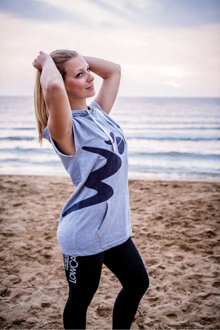 ballarina Beachvolleyball | Sleeveless Hoodie