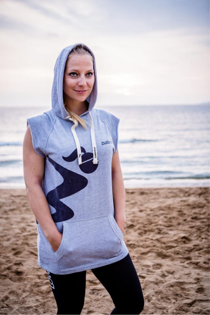 ballarina Beachvolleyball |Sleeveless Hoodie