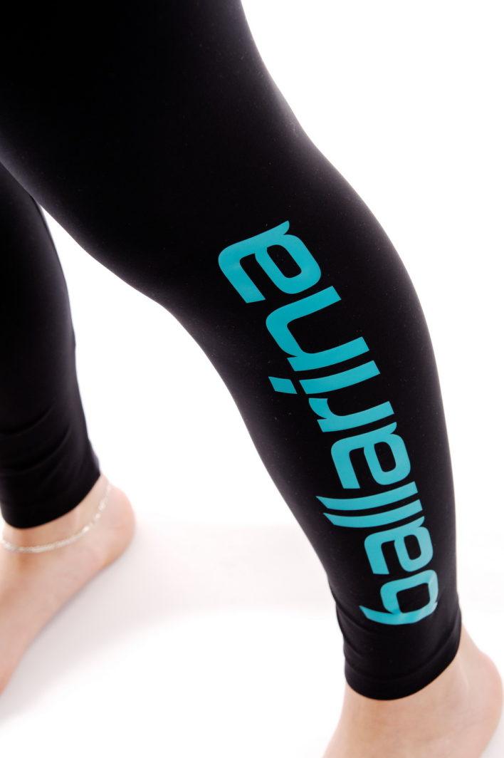 "ballarina Beachvolleyball | Tight ""Longpant"" schwarz-orangeballarina Beachvolleyball | Tight ""Longpant"" schwarz-diesel"