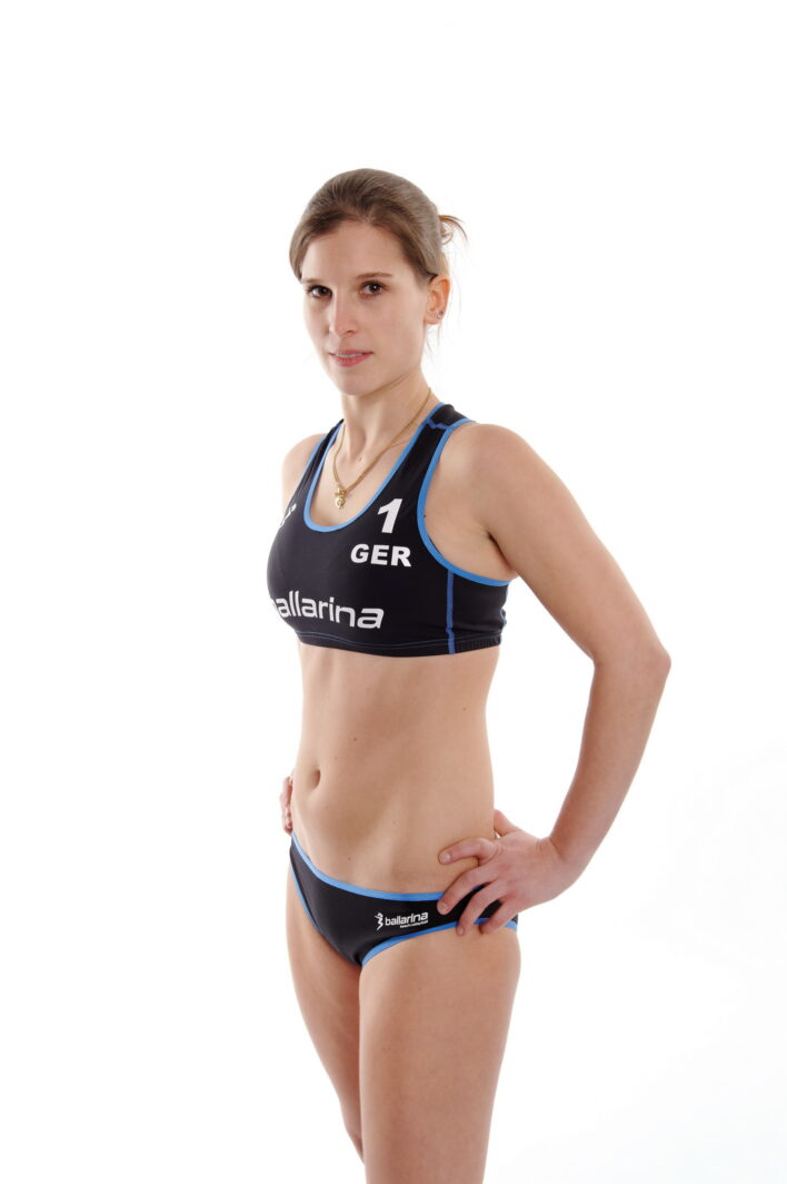 ballarina Beachvolleyball | Player Uniform schwarz-diesel