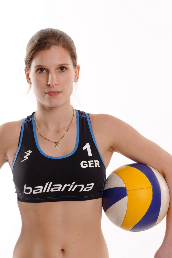"ballarina Beachvolleyball | Player Top ""Tour"" schwarz-diesel"