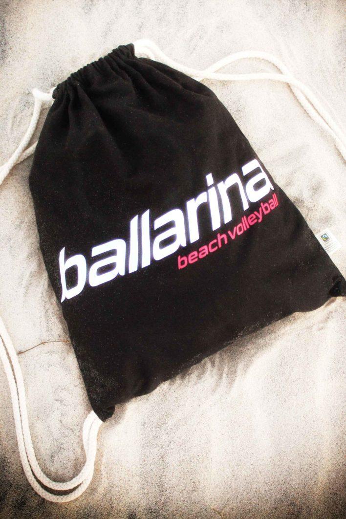 Turnbeutel Gym Bag ballarina Beachvolleyball