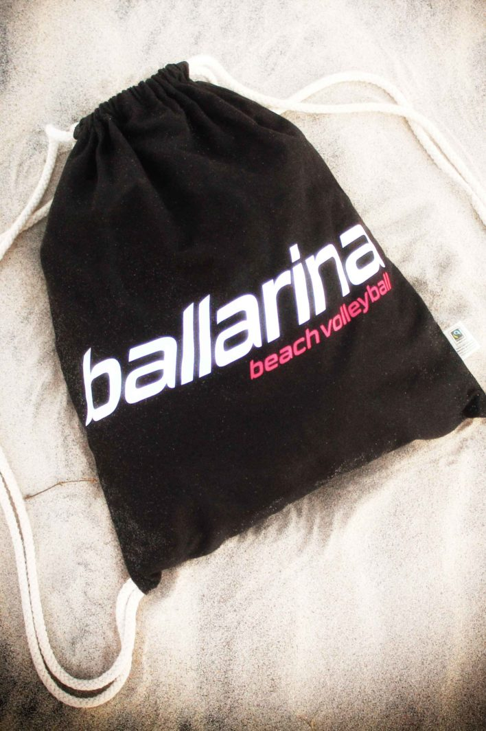 Turnbeutel Gym Bag ballarina Beachvolleyball