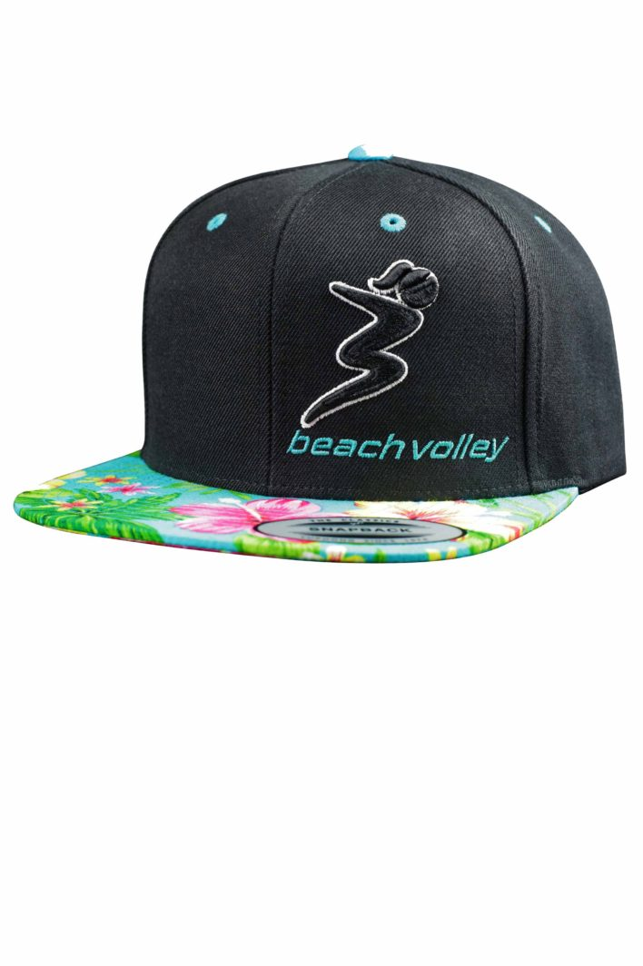 "Beachvolleyball Cap ""Flowers"" 