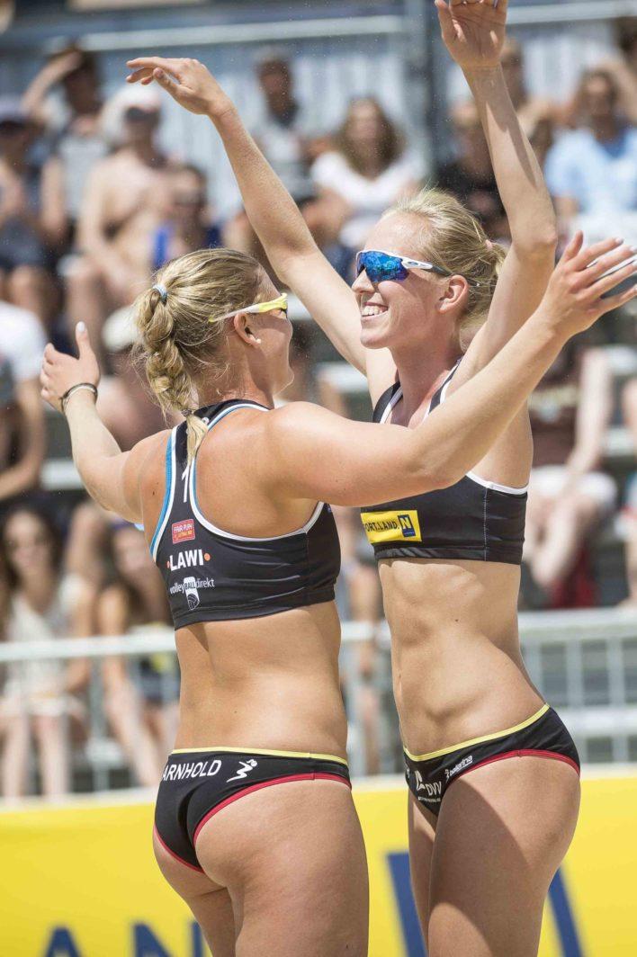 Die Beachvolleyball Bikinihose der DVV Nachwuchs-Nationalmannschaften
