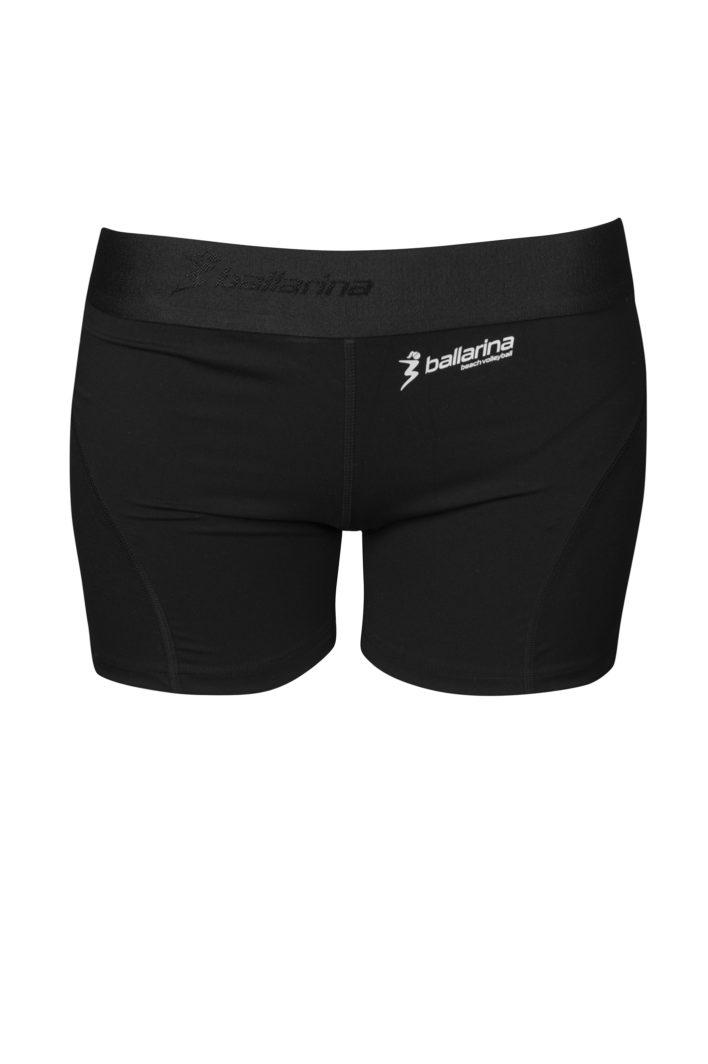 DIE perfekte Beachvolleyball Hotpant von ballarina Beachvolleyball. Für alle Beacherinnen, die etwas mehr Stoff am Körper haben aber trotzdem sexy aussehen wollen!