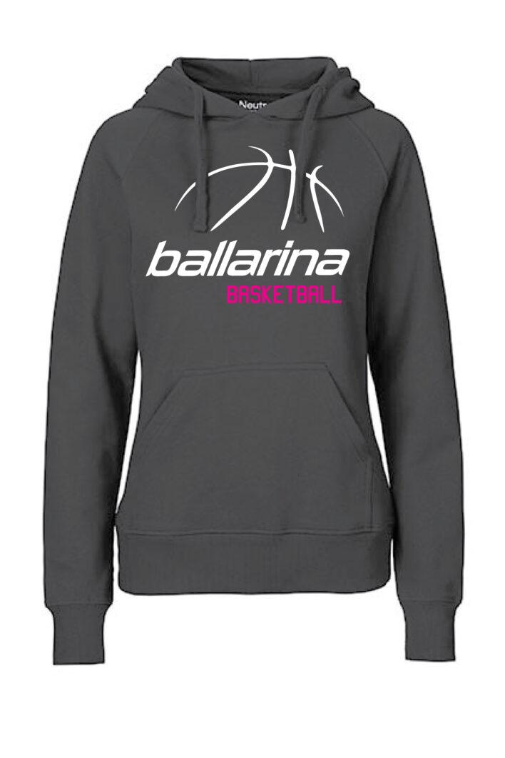 Hoodie Classic BB schwarz | ballarina Basketball