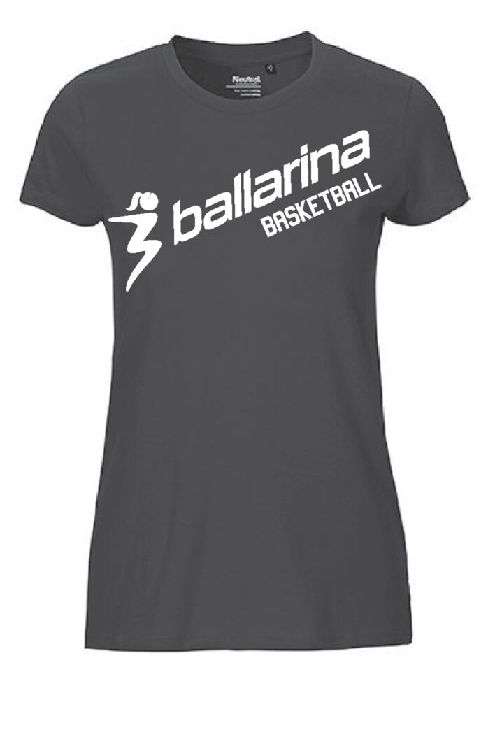 T-Shirt Classic BB schwarz | ballarina Basketball