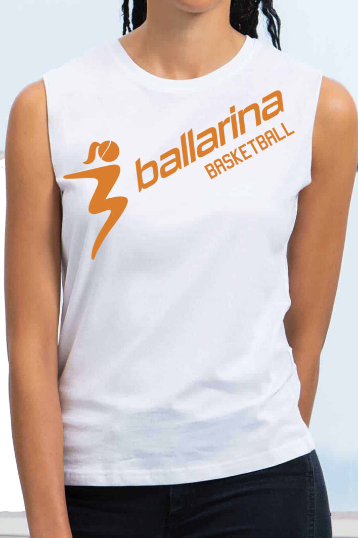 Das ballarina Basketball Tank Top ist perfekt fürs Training oder zum Zocken auf dem Freiplatz!