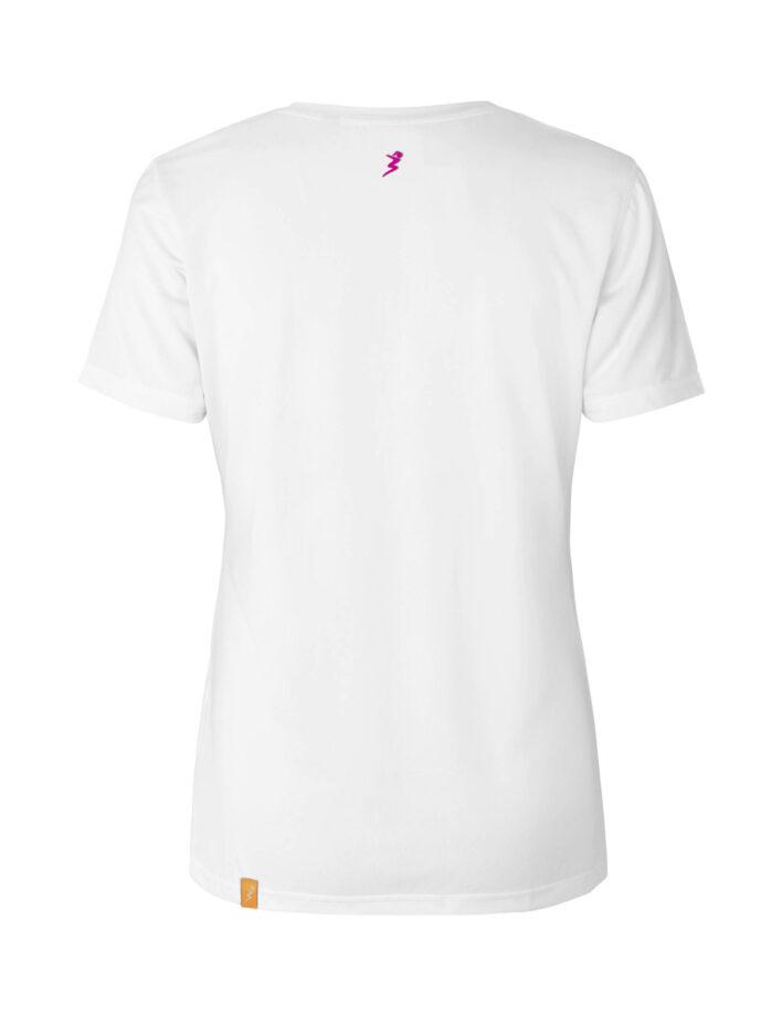 """ballarina Shirt """"Life is better at the Beach Volleyball Court"""" Rückseite"""